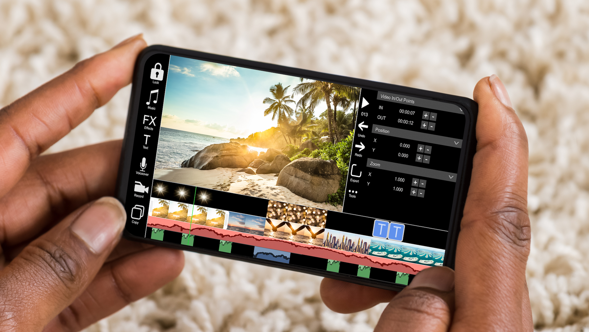 Editing,Videos,On,Mobile,Phone,Using,Video,Editor,App